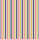Living coral stripes by PatternLady