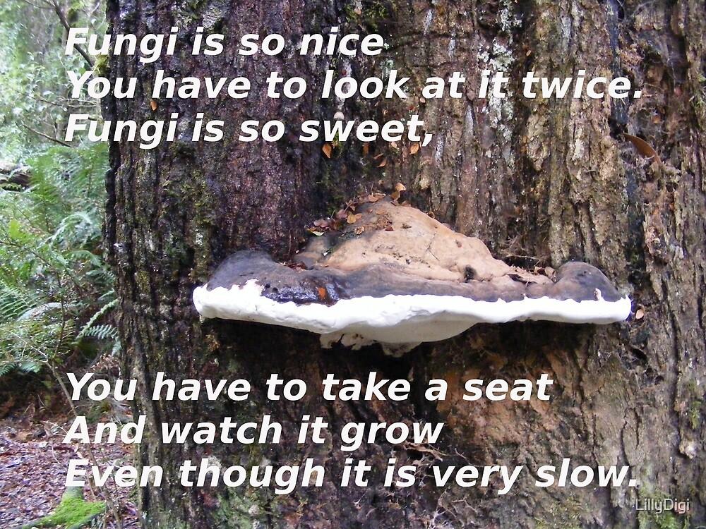 My Fungi poem.  by LillyDigi
