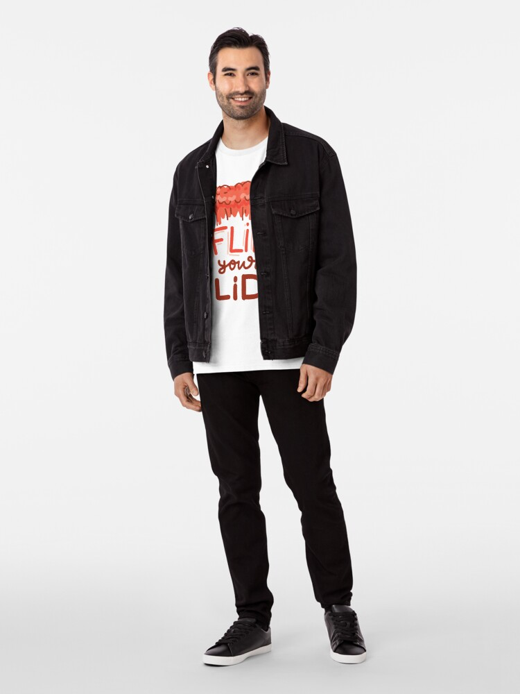 Alternate view of Flip Your Lid by AussiEmoji™ Australia Premium T-Shirt