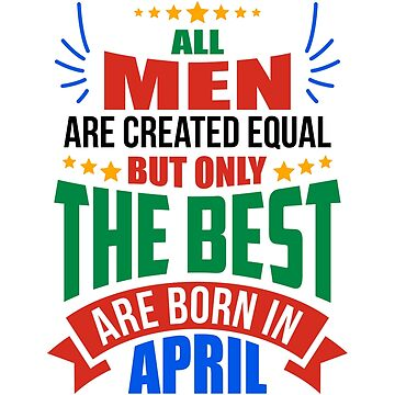 APRIL Birthday Special - MEN by TheArtism