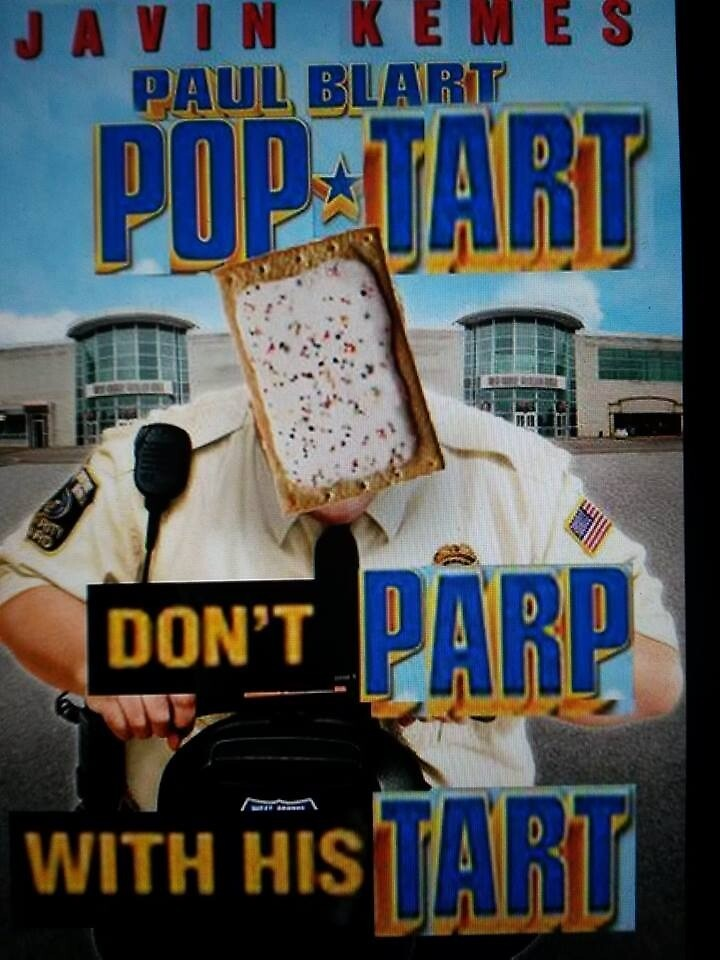 Pop Blart Mall Tart by KrazieBoy