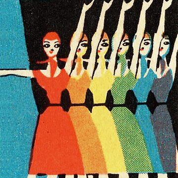Dancing Rainbow by TheWhiteBear