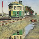 W2 Tram to Essendon by Joseph Spinella