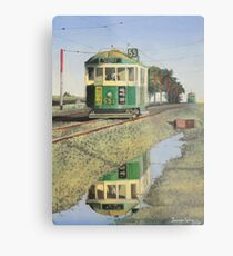 W2 Tram to Essendon Metal Print