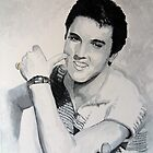 The King (of Rock and Roll) by Antonio  Luppino