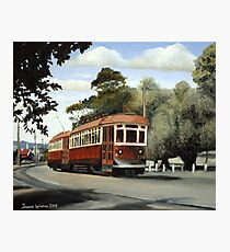 Glenelg Tram Photographic Print