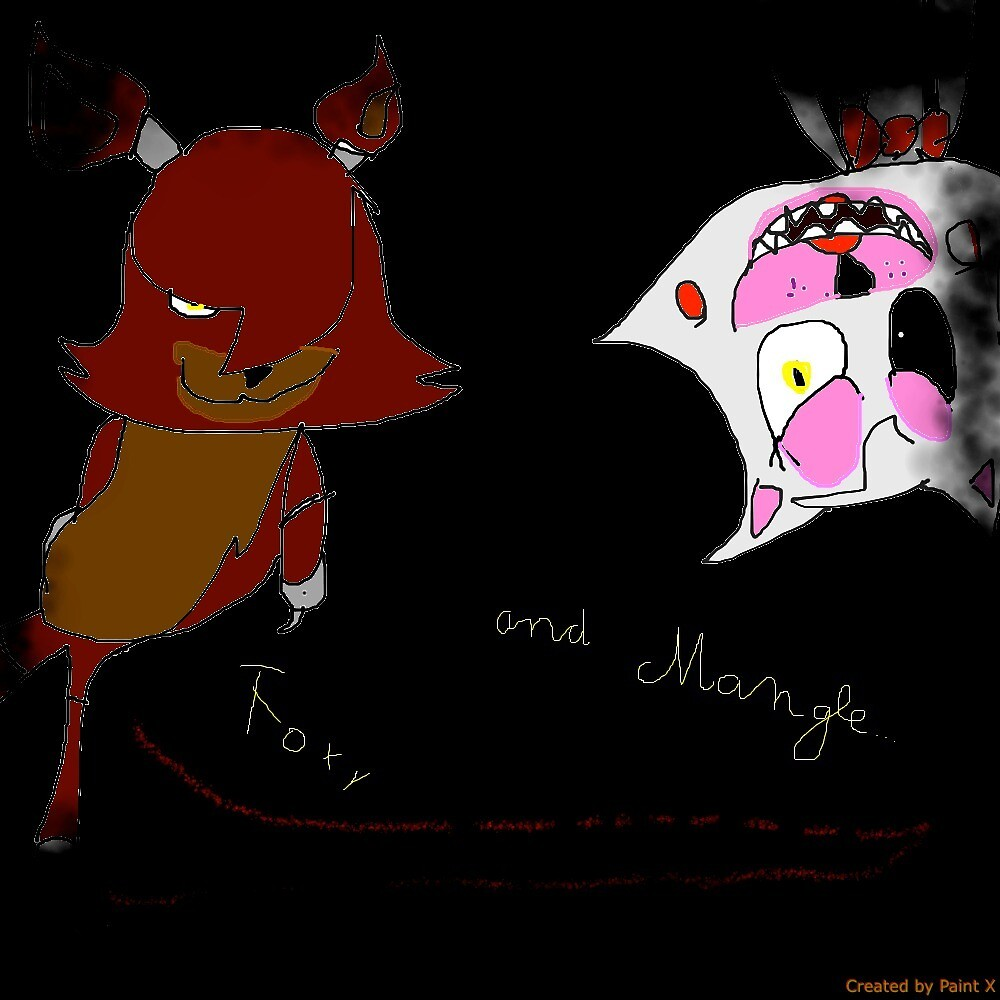 Mangle and foxy by foxy80