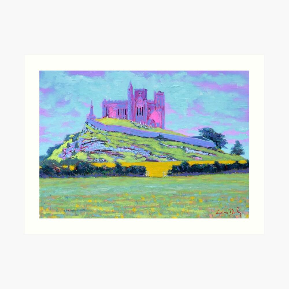 The Rock of Cashel III (Tipperary, Ireland) Art Print