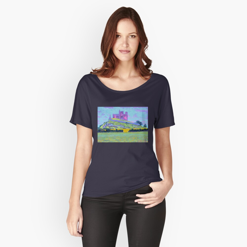 The Rock of Cashel III (Tipperary, Ireland) Relaxed Fit T-Shirt