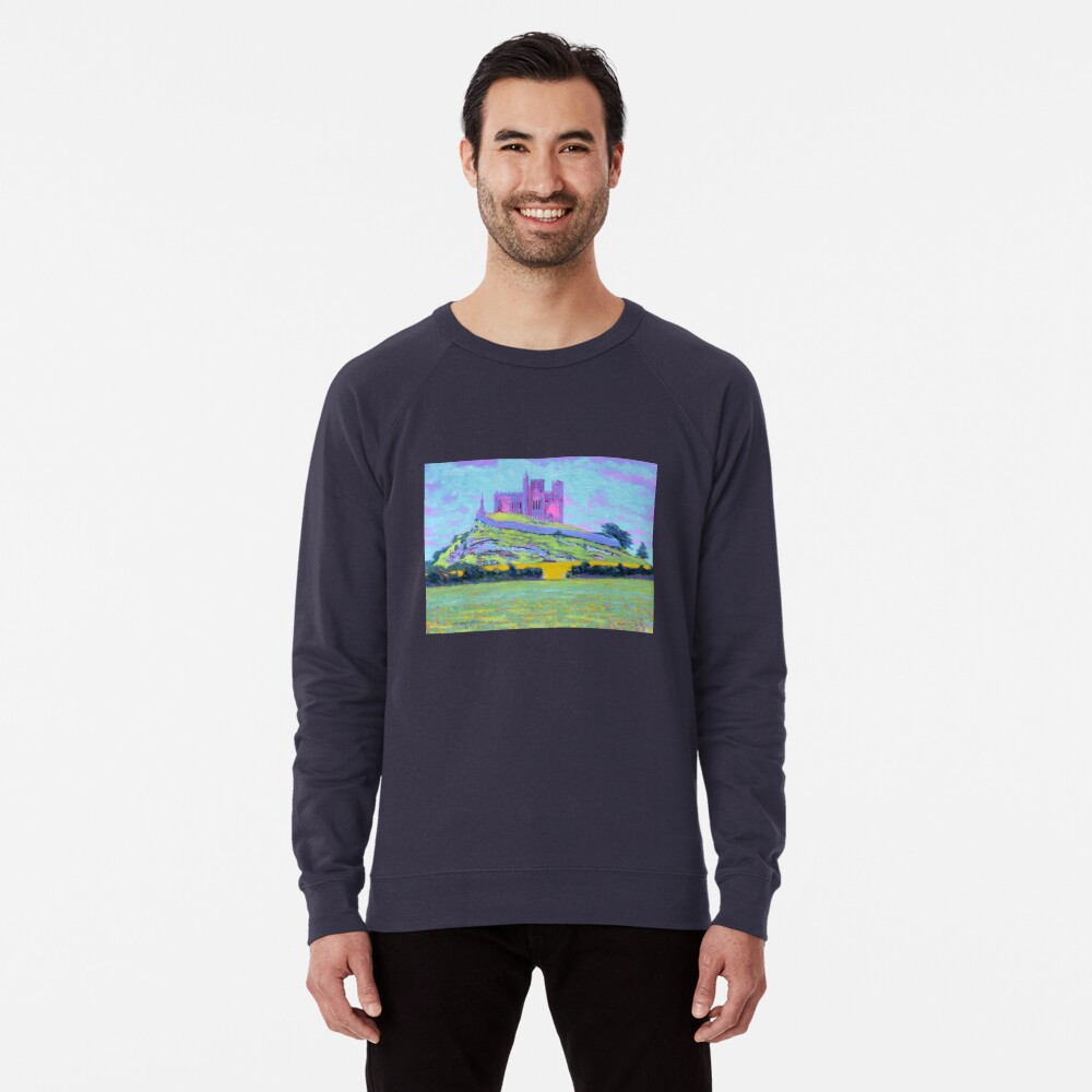 The Rock of Cashel III (Tipperary, Ireland) Lightweight Sweatshirt