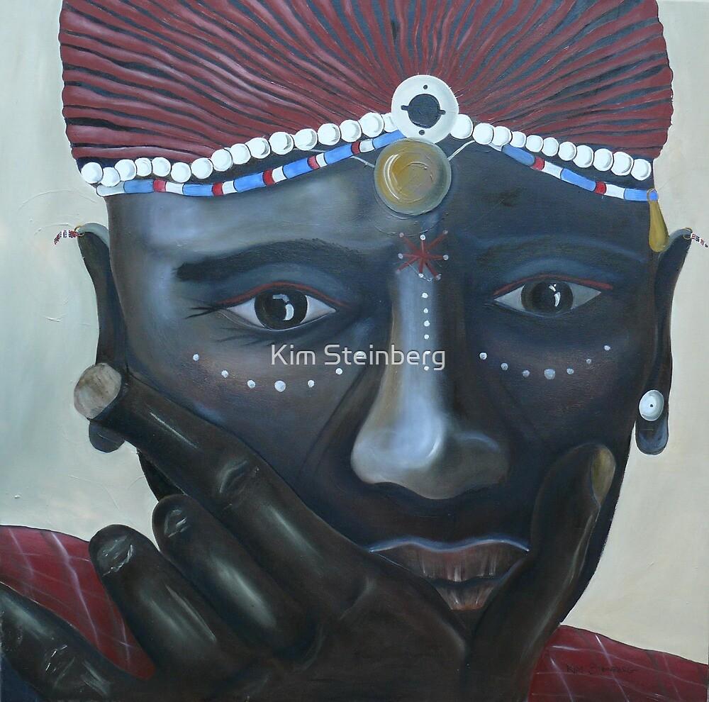 Masai Warrior by Kim Steinberg