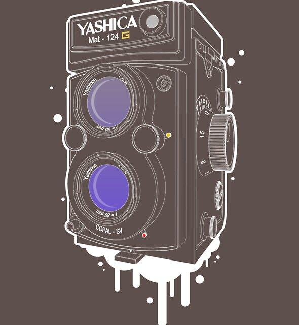 YASHICA Mat 124 G by panaromic