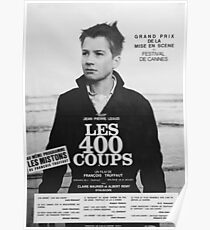Póster Les quatre cents coups / The 400 Blows (1959)