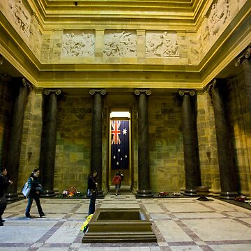 ANZAC Day at The Shrine of Remembrance by eos30me