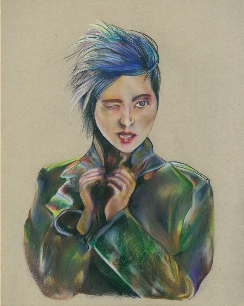 Camo girl by JenniferEGreen