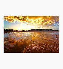 Golden Tide Photographic Print