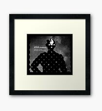Subject: What you know. Framed Print