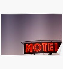 motel; revisited Poster