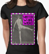 Mister Whirl-Wide  Womens Fitted T-Shirt