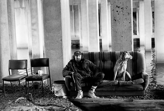 Bill and his dog Ted. by docophoto