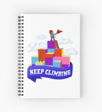 Keep Climbing Spiral Notebook