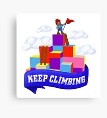 Keep Climbing Canvas Print
