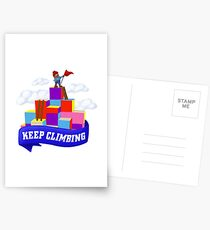 Keep Climbing Postcards