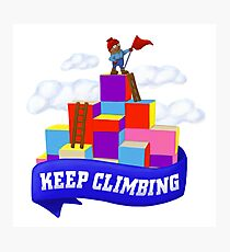 Keep Climbing Photographic Print
