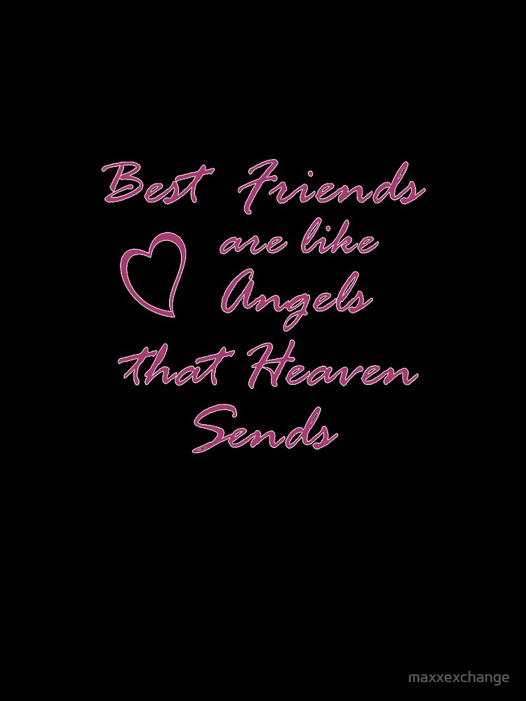 Best Friends, BFF, Angels, Heaven. Gifts by maxxexchange