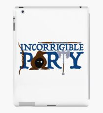 The Incorrigible Party iPad Case/Skin