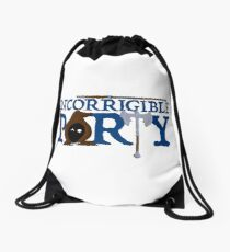The Incorrigible Party Drawstring Bag