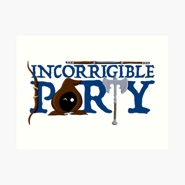 The Incorrigible Party Art Print