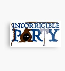 The Incorrigible Party Metal Print
