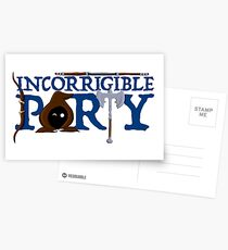 The Incorrigible Party Postcards