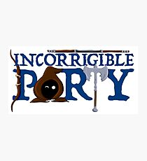 The Incorrigible Party Photographic Print