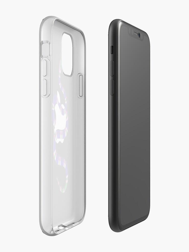 louis vuitton etui iphone 8 | Coque iPhone «COFFRET BLEU GUCCI SNAKE POUR APPLE - Iphone», par F3DUR1C0