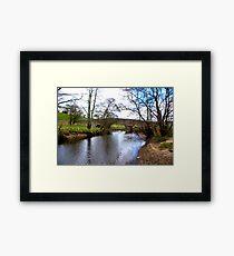 The Bridge at Semer Water - Yorks Dales. Framed Print