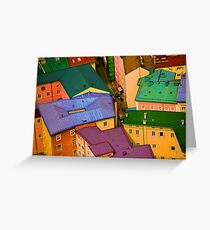 Rooftops - Austria Greeting Card