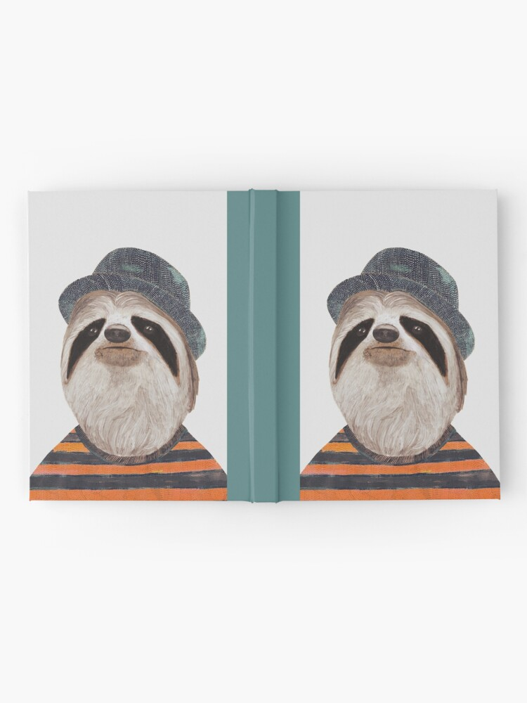 Alternate view of Sloth Hardcover Journal