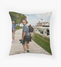 On Location Throw Pillow