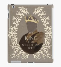 The King that should have been iPad Case/Skin