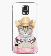 Country Cat Case/Skin for Samsung Galaxy