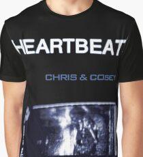 Chris & Cosey - Herzschlaggrafik Grafik T-Shirt