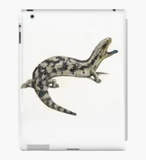 Blue tongue iPad Case/Skin