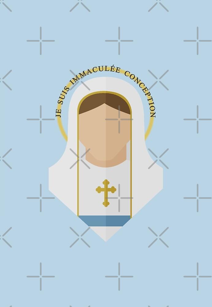 Our Lady of Lourdes by All Saints Shop
