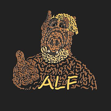Alf The Extraterrestrial by Karotene