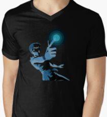 Camiseta para hombre de cuello en v Spirit Gun