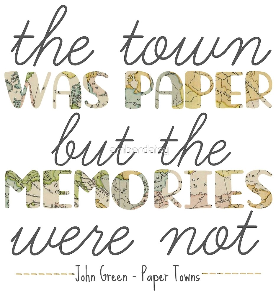Paper Towns by amberdaisy