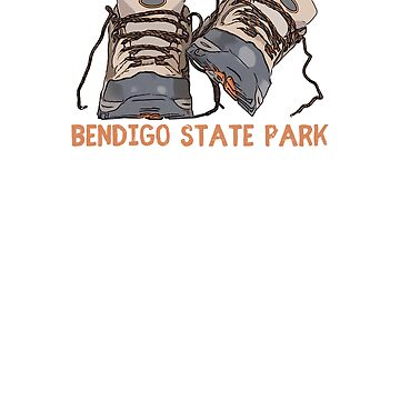 Bendigo State Park Hiking Boots by awkwarddesignco