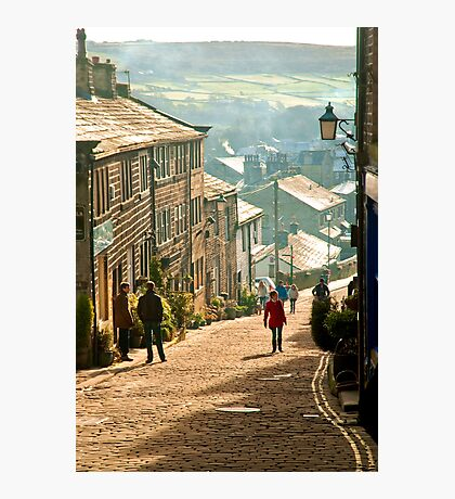 The Highstreet of Yesteryear Photographic Print